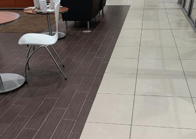 commercial flooring automotive BMW