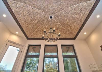 residential custom ceiling tile installation