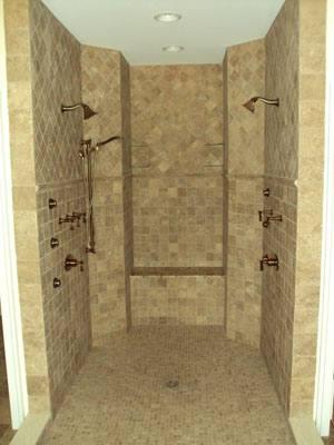 summit builders shower tile